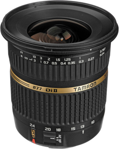 Tamron SP AF10-24mm F/3.5-4.5 Di II for Sony