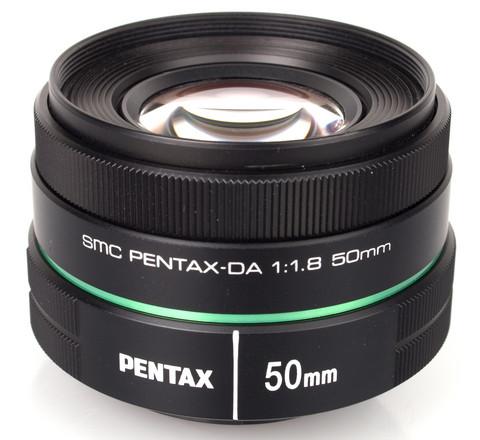 Pentax 50mm F1,8 DA