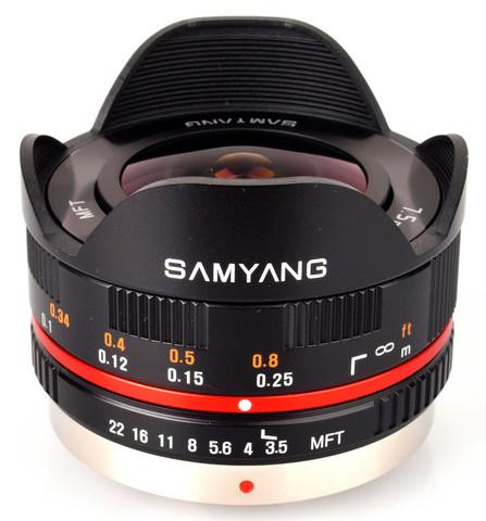 Samyang 7,5mm fisheye 3,5micro 4/3 BL
