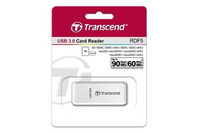 Transcend 3.0 USB Card Reader RDF5K valkoinen