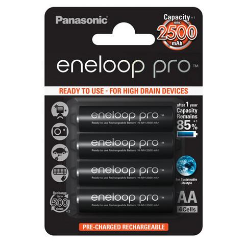 Panasonic AA eneloop pro 2500mAh
