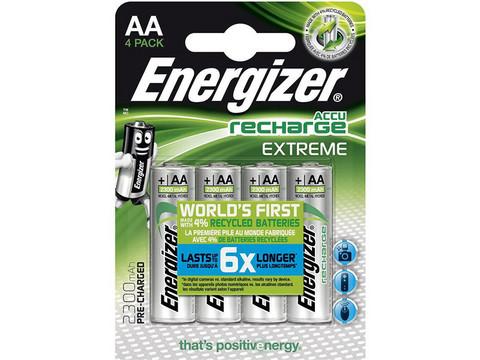 Energizer AA Akku 4kpl 2300mAh