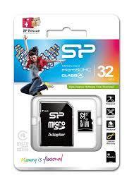 SP 32GB muistikortti