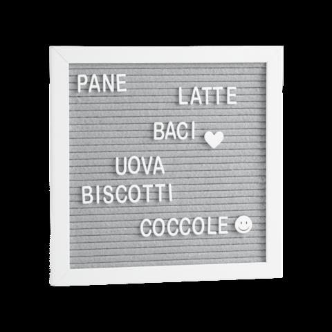 Mascagni Letterboard Bianco/white A862 25X25