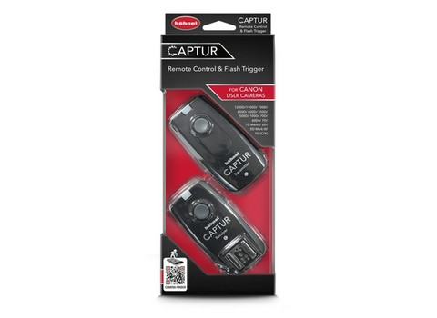 Captur Remote Control & Flash Trigger For Canon DSLR Cameras