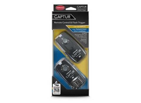 Captur Remote Control & Flash Trigger For Olympus and Panasonic DSLR Cameras