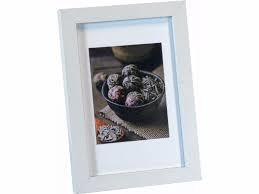 Nina White 13x18 photo frame