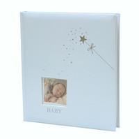 Baby's stars -tähti albumi, 29x32cm-60s, sininen