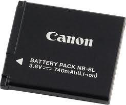 Canon NB-8L Li-Ion