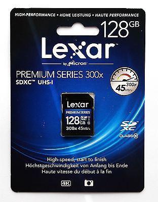 Lexar 128 GB 300x 45 MB/S SDHC UHS-I