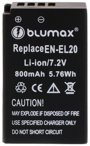Nikon EN-EL 20 BLUMAX akku