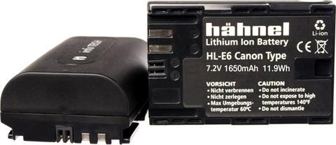 Canon LP-E6 Hähnel akku