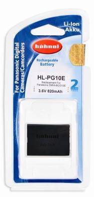 Panasonic DMW-BCG10E Hähnel HL-PG10E akku