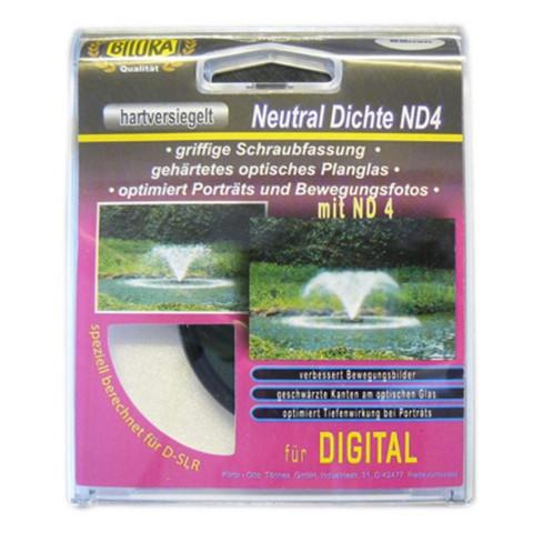 Bilora harmaasuodin ND4, 62 mm