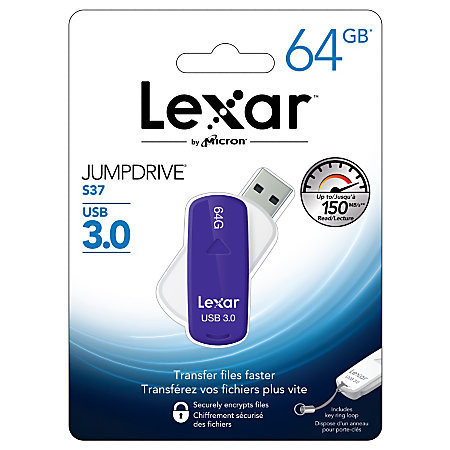 Lexar 64GB Jumpdrive S37 3.0