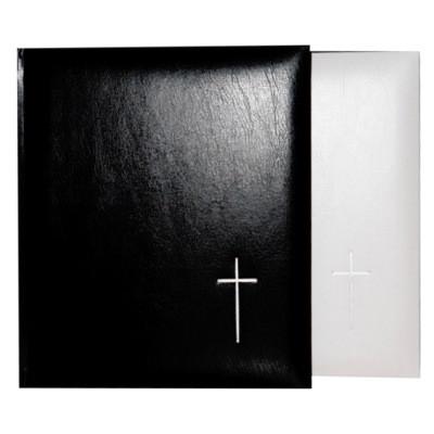 Hautajaisalbumi, musta