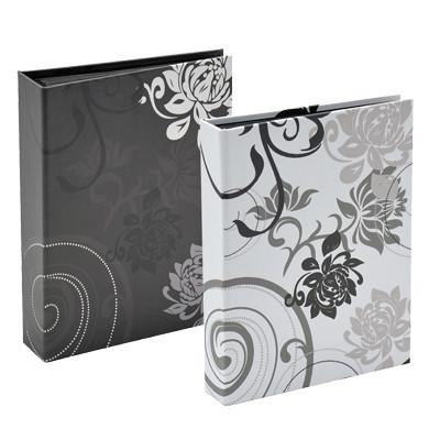 Minialbumi Grindy 36 kuv. 10x15 - kovakansi, valkoinen
