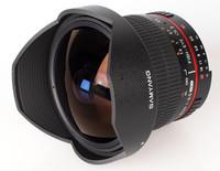 Samyang 8mm fisheye CSII Nikon F3.5
