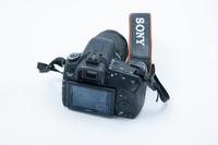 Sony A350 runko + hihna