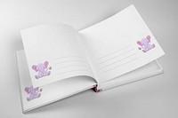 Walther Design Vauva albumi vaalean punainen