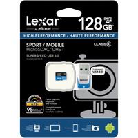 Lexar 128 GB microSDXC + USB