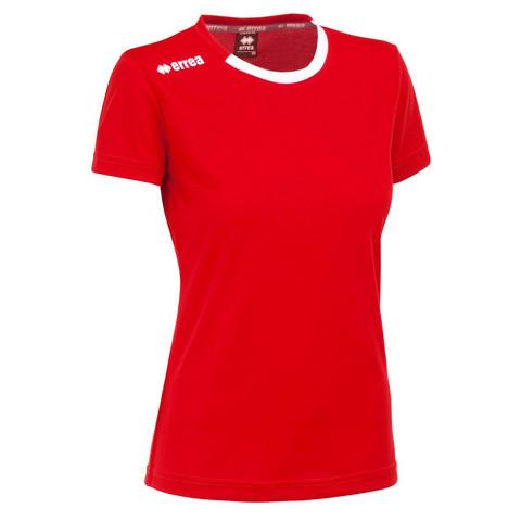 Ramos naisten pelipaita, väri:punainen