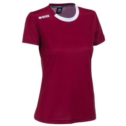 Ramos naisten pelipaita, väri:viininpunainen
