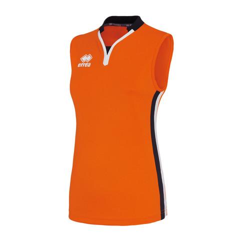 HELENS naisten pelipaita, väri: oranssi/musta/valkoinen