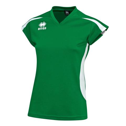 RAY naisten pelipaita, väri: vihreä/valkoinen