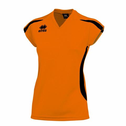 RAY naisten pelipaita, väri: oranssi/musta
