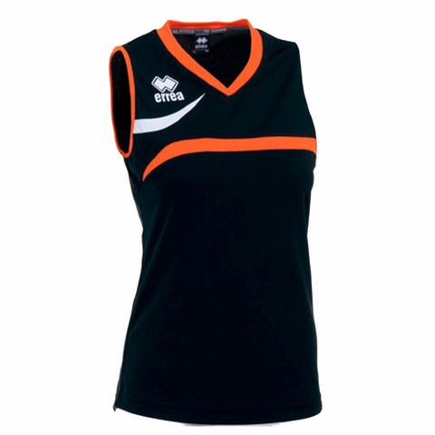 VITORIA naisten pelipaita, väri: musta/oranssi/valkoinen