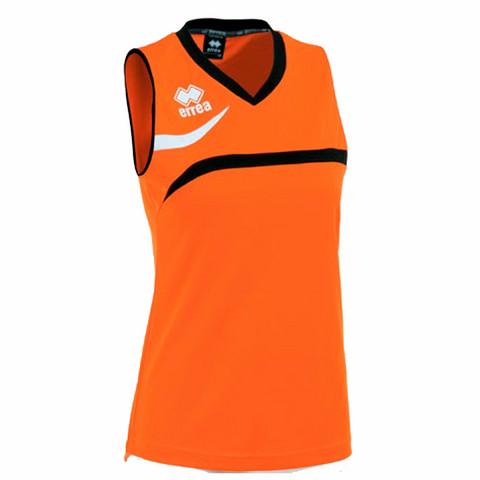 VITORIA naisten pelipaita, väri: oranssi/musta/valkoinen