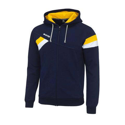 FUNK collegehuppari väri:navy/kelta/valkoinen