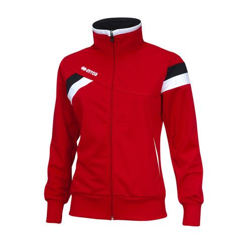 FLORENCE naisten verryttelytakki väri:puna/musta/valkoinen