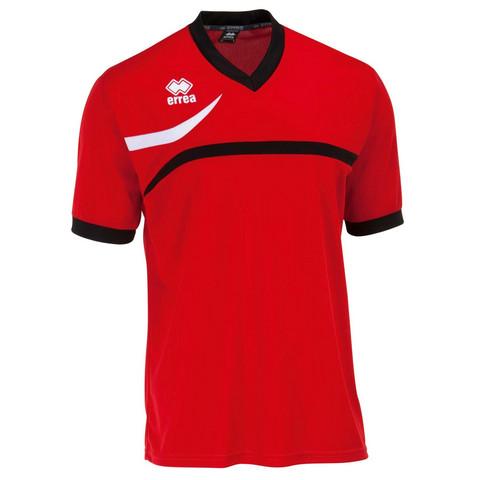 Derby lyhythihainen pelipaita väri: puna/musta/valkoinen
