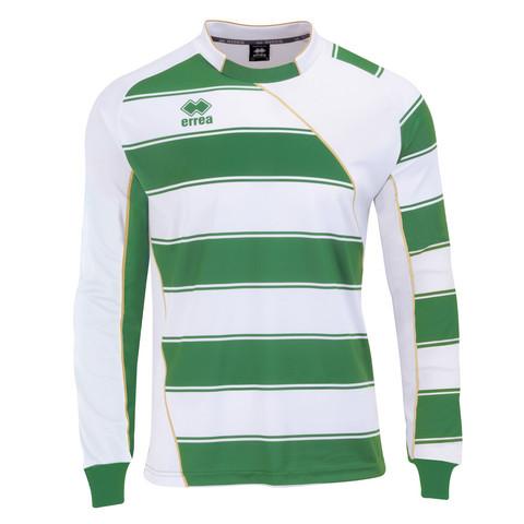 Dundee  pitkähihainen pelipaita väri: Valko/vihreä/kulta