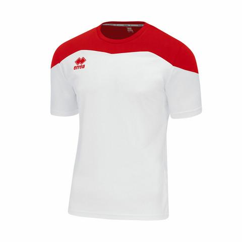 Gareth lyhythihainen pelipaita väri: Valko/punainen