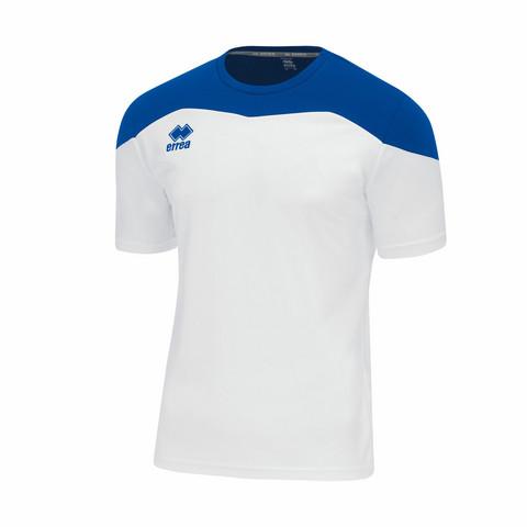 Gareth lyhythihainen pelipaita väri: Valko/sininen