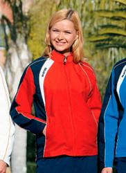 Sharm naisten tuulitakki väri : Puna/navy/valkoinen