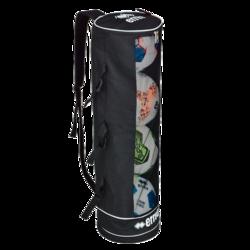 Twin Tube Palloputki, 4 pallolle, väri: musta