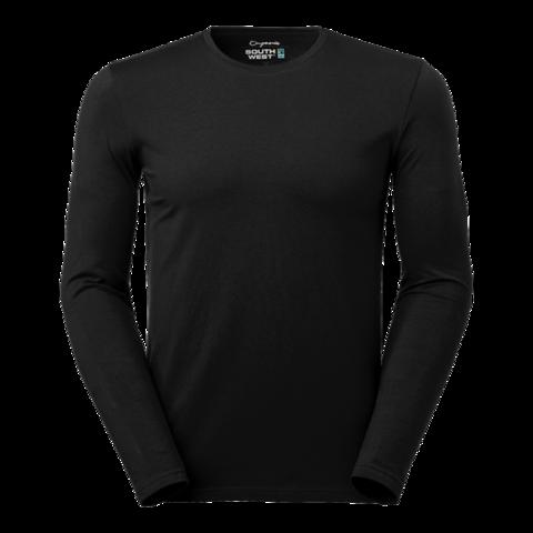 Pitkähihainen T-paita väri: musta