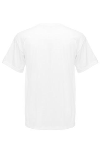 Puuvilla T-paita, valkoinen