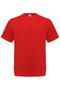 Puuvilla T-paita, punainen