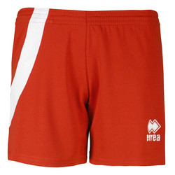 NICOLE naisten shortsi,väri: puna/valkoinen