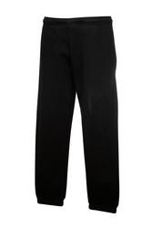 COLLEGE housut väri: musta