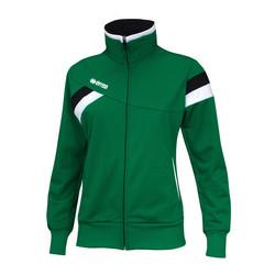 FLORENCE naisten verryttelytakki väri:vihreä/musta/valkoinen