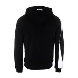 Gisborn collegehuppari väri: Musta/valkoinen