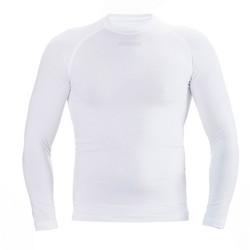 ERMES, pitkähihainen tekninen asuspaita väri:valkoinen