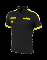 DOUG  lyhythihainen erotuomari paita väri: musta/neonkeltainen