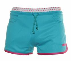 NEILA naisten shortsi,väri: cyan